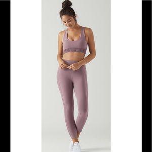 Glyder Blossom Bra and Origin 7/8 leggings set XS